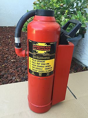 Vintage American La France Model 10MAC/C02 Fire Extinguisher Empty NICE