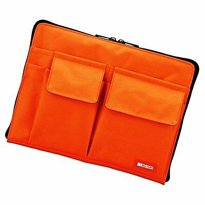 Stationery Lihit Lab Inc bag-in-bag A7553-4 orange A5 FREE SHIPPING