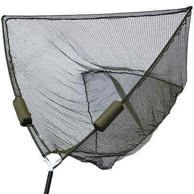 """Carp Fishing 50"""" Inch Dual Landing Net System With Net Float Ngt Tackle"""
