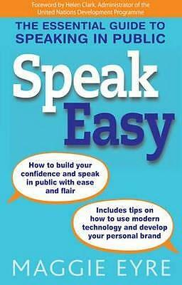 NEW Speak Easy By Maggie Eyre Paperback Free Shipping