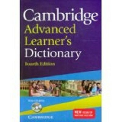 Cambridge Advanced Learner's Dictionary with CD-ROM, , Very Good condition, Book