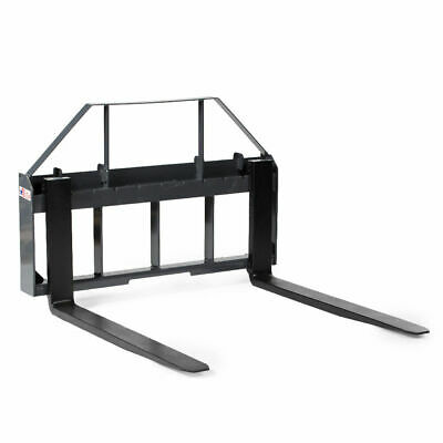 "United Attachments 42"" Skid Steer Pallet Fork Forklift Frame Bobcat Kubota Case"