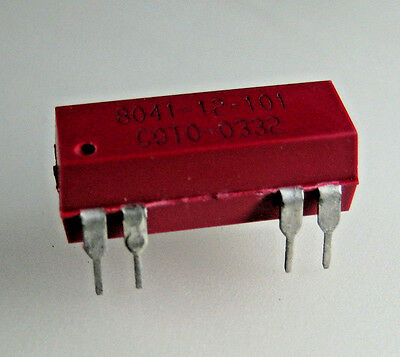 (10)Coto Technology  8041-12-101 Reed Relay SPDT (1 Form C) Through Hole