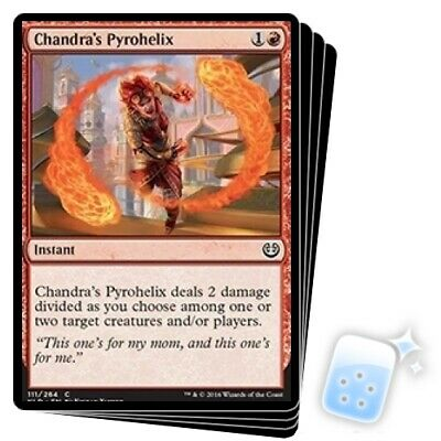 Chandra's Pyrohelix X4 M/NM Magic: The Gathering MTG Kaladesh