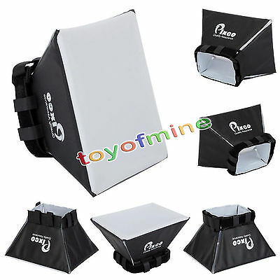 Universel Pliable Diffuseur Flash SoftBox pour Canon Nikon Olympus Pentax