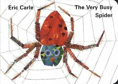 The Very Busy Spider by Eric Carle 9780241135907 (Board book, 1996)