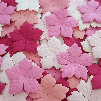 500 Paper Flower Petals Scrapbook Cardmaking Birthday craft supply P40-00