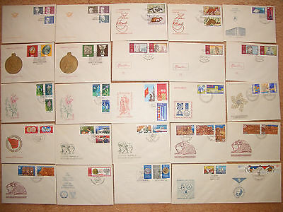 DDR - Briefmarken - Sammlung - Lot - 1970 - ETB - FDC