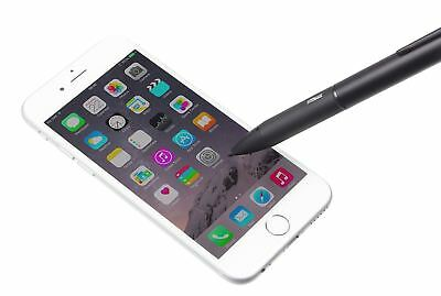 Tec+ Rechargeable Active Precision Stylus for Smartphones/Tablets & more - Black
