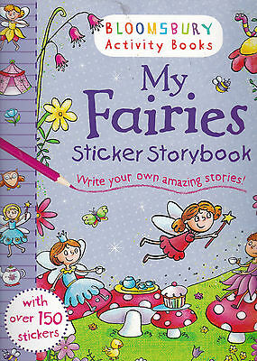 My Fairies Sticker Activity Story book (Paperback, 2014) New