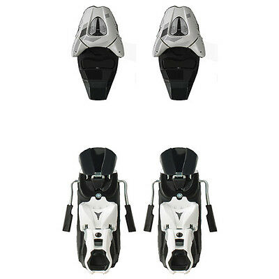Atomic XTE 10 Wht/Sil Replacement Bindings (Upper Toe + Heel Assy's) NEW !! 80mm