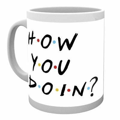 """Official Friends """"How You Doin?"""" Coffee Mug - Boxed Joey Quotes"""