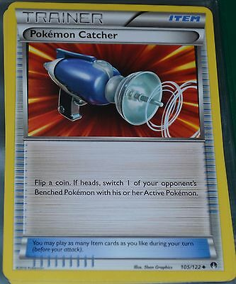 Pokemon Catcher # 105/122 XY Breakpoint Set Trading Cards Trainer Item MINT
