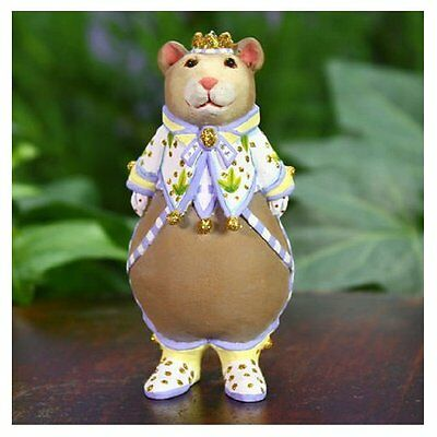 Patience Brewster Christmas Holiday – Mini Victoria Bear Ornament 31024