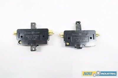 Lot 2 Ge Cr105X300 Ac Contactor Auxiliary Contact 600V-Ac D544893