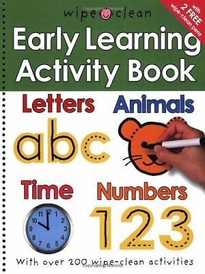 Early Learning Activity Book (Wipe Clean)