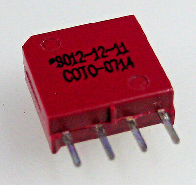 Coto Technology  9012-12-11 Reed Relay SPST-NO (1 Form A) Through Hole