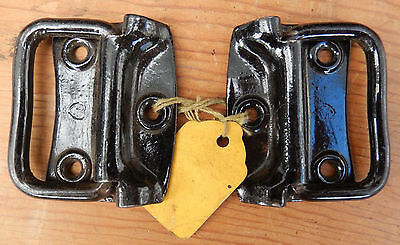 Pair Stanley Sweetheart New Old Stock Small Chest Tool Box Handles Ships $3.95