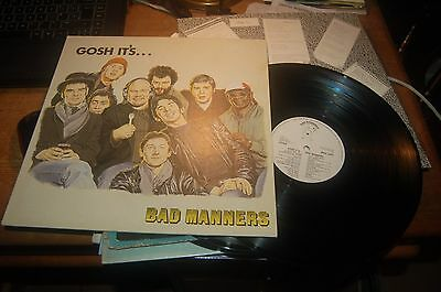 10,001 Bad Manners Gosh It's Bad Manners Ex Con Buy 5 LP's For £6 Postage