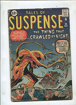 Tales Of Suspense #26 (3.0) The Thing That Crawled By Night!