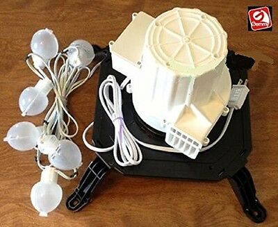 Gemmy Airblown Inflatable Replacement Fan/Blower Model TH-BL3-N With 6 Lights