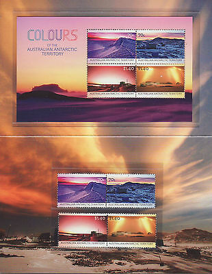 2015 Colours of Antarctic Territory Booklet, very good condition.