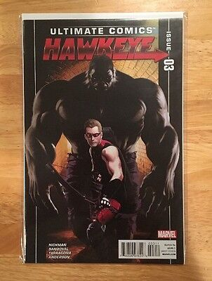 Ultimate Comics Hawkeye #3 NM 9.4 JONATHAN HICKMAN HULK