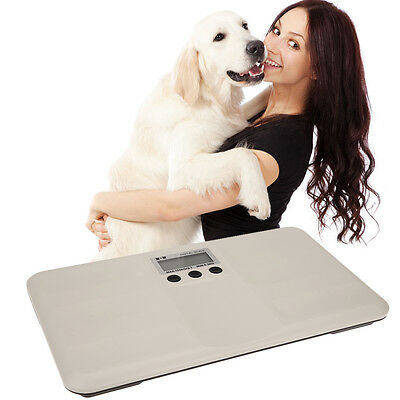 330LBS Platform Digital Scale LCD Veterinary Pet Dog Cat Baby Bench 150KG Weight