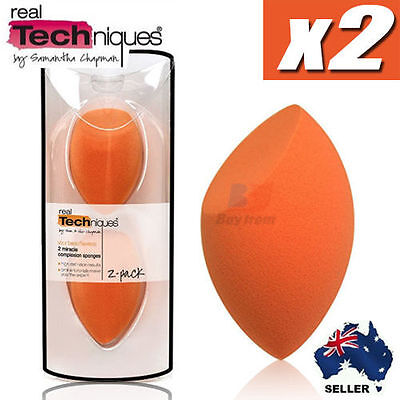 Real Techniques Miracle Complexion Sponge Foundation Make Up Puff