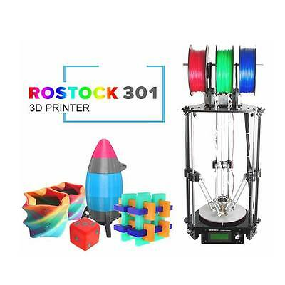Geeetech Rostock 3D printer DIY KIT 3-in-1-out Printing mix colors FDM GTM32