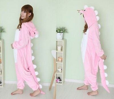 HOT Adult Unisex Pajamas Kigurumi Cosplay Costume Animal Onesie Sleepwear