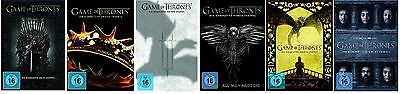 Game of Thrones Staffel 1-6 (1+2+3+4+5+6) DVD Set NEU OVP