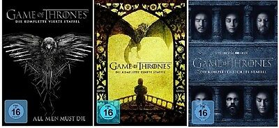Game of Thrones Staffel 4-6 (4+5+6) DVD Set NEU OVP