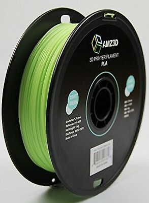 1.75mm LightGreen PLA 3D Printer Filament-1kg Spool PLA-1.75-Light Green-1kg CXX