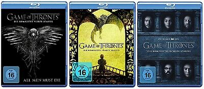 Game of Thrones Staffel 4-6 (4+5+6) Blu-ray Set NEU OVP