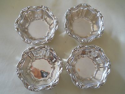 4 BIRKS STERLING Silver Nut Candy Dishes