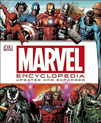 Marvel Encyclopedia (updated edition) by DK Book The Cheap Fast Free Post