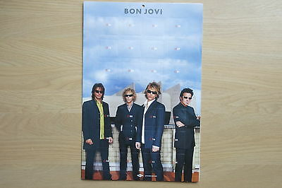 BON JOVI Official promo advent calender