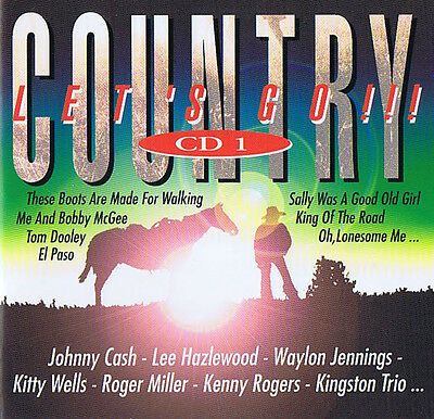 Country Let´s Go !!! CD ( 4 CDs ) Box Set ( ohne Pappbox )
