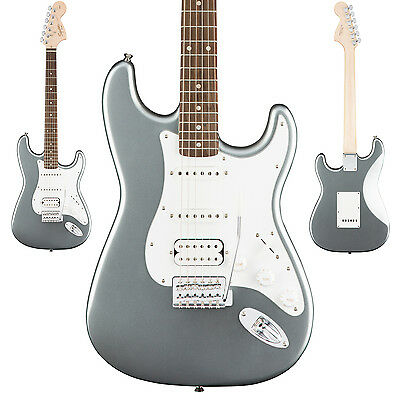 Squier Affinity Series Stratocaster HSS Electric Guitar Slick Silver Strat - NEW