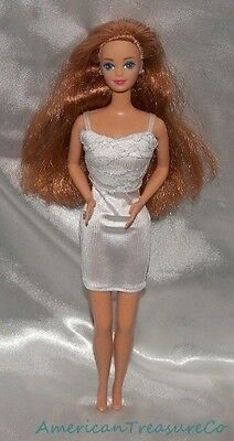 Barbie 1990 WEDDING DAY MIDGE Bride Fashion Doll w/Long Red Hair & Travel Dress