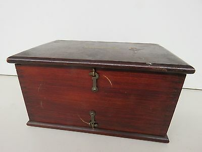 Antique Pilling-Made Philadelphia Battery Quack Medical - Wood Box  bl