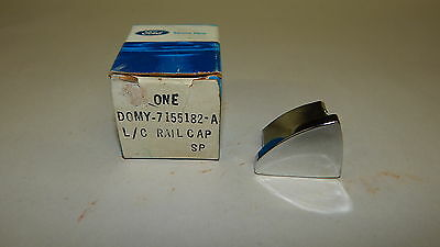 Nos 1970 71 Ford Torino Station Wagon Roof Rack Rail End Cap
