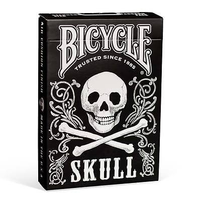 1 Deck Bicycle Skull Standard Poker Playing Cards Brand New Deck