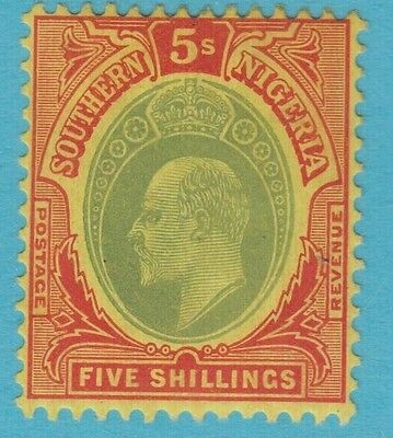 Southern Nigeria 41 Mint Lightly Hinged Og No Faults Extra Fine