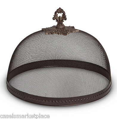 The GG Collection Set of 2 Large Mesh Food Screen Domes Bug Free Outdoor Cover