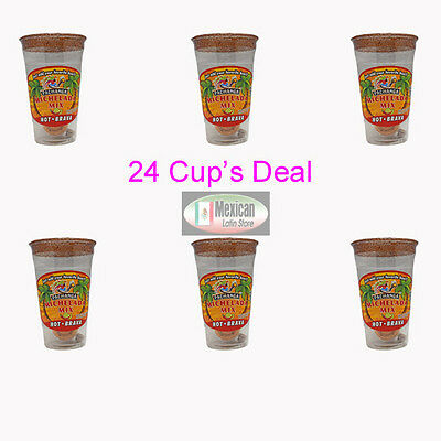 24X Michelada Mix Hot-Brava Cup  Just add your favorite Drink 24-cup deal