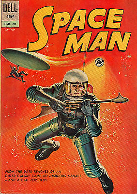 Space Man #2 - Great Spaceship/UFO Cover - (6.0) 1962