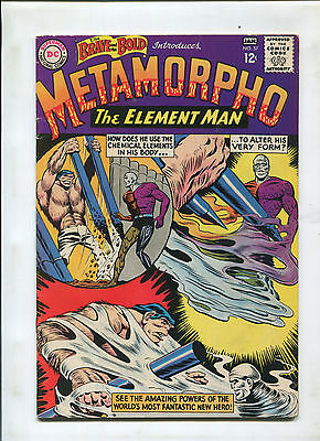 Brave And The Bold #57 (7.0) 1St Metamorpho Key