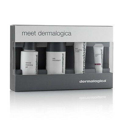 Meet Dermalogica Skin Kit Cleanser Daily Microfoliant Smoothing Cream Power Firm